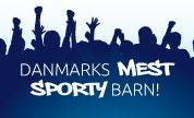 Danmarks MEST sporty barn